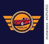 garage logo | Shutterstock .eps vector #642913522