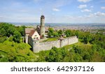 Aerial View On Altenburg Castl...