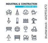 industrial and construction... | Shutterstock .eps vector #642951472