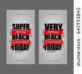 black friday sale inscription... | Shutterstock . vector #642953842