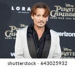 johnny depp at the u.s.... | Shutterstock . vector #643025932