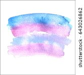 abstract background. watercolor ... | Shutterstock .eps vector #643026862