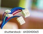 wiring harness  | Shutterstock . vector #643040065