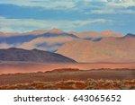 namibia namibrand nature... | Shutterstock . vector #643065652