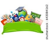 vector school banner | Shutterstock .eps vector #643084162