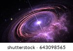 Quasar Surrounded By An...