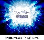 holiday card design | Shutterstock .eps vector #64311898