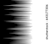 comic horizontal speed lines... | Shutterstock .eps vector #643177306