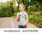 portrait of young beautiful ... | Shutterstock . vector #643196308
