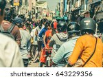 bangalore  india   feb 12  many ... | Shutterstock . vector #643229356