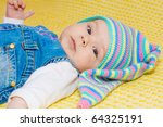 sweet baby girl | Shutterstock . vector #64325191