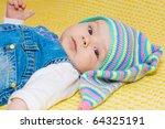 sweet baby girl | Shutterstock . vector #64325191
