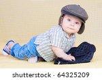 sweet baby boy | Shutterstock . vector #64325209