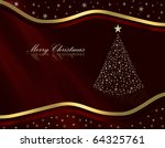 christmas background | Shutterstock . vector #64325761