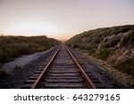 train tracks | Shutterstock . vector #643279165