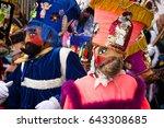 mexico city mexico september 21 ... | Shutterstock . vector #643308685
