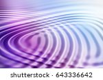 colorful ripple background | Shutterstock . vector #643336642