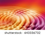 colorful ripple background | Shutterstock . vector #643336732