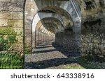 under the footbridge at low...   Shutterstock . vector #643338916