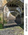 under the footbridge at low...   Shutterstock . vector #643338922