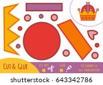 education paper game for... | Shutterstock .eps vector #643342786