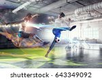 most impressive entertainment... | Shutterstock . vector #643349092