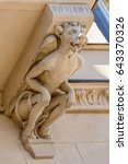 Grotesque Stone Figure On...