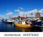 hobart port.   Shutterstock . vector #643376362
