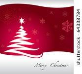 christmas wallpaper background... | Shutterstock .eps vector #64338784