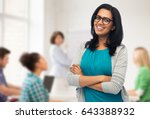 education  high school and... | Shutterstock . vector #643388932