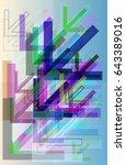 way pattern texture | Shutterstock .eps vector #643389016
