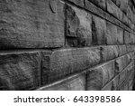 wall bricks  | Shutterstock . vector #643398586