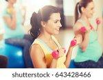 pregnancy  sport  fitness ... | Shutterstock . vector #643428466