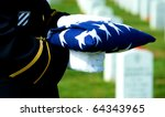 Honor Guard Holding Folded...