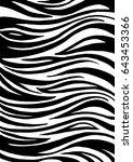Zebra Print  Animal Skin....