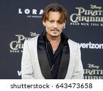 johnny depp at the u.s.... | Shutterstock . vector #643473658
