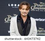 johnny depp at the u.s.... | Shutterstock . vector #643473742