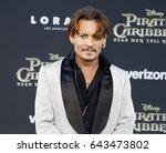 johnny depp at the u.s.... | Shutterstock . vector #643473802