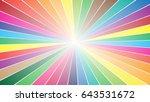 color radial logo   Shutterstock .eps vector #643531672