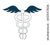 pharmacy symbol isolated icon | Shutterstock .eps vector #643547836