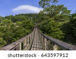 japanese virgin landscape | Shutterstock . vector #643597912