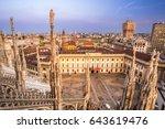 milan  italy   july 20  2015 ... | Shutterstock . vector #643619476