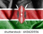 kenya cotton flag   Shutterstock . vector #643620556