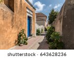 coef street in la chaume  les...   Shutterstock . vector #643628236