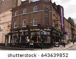london  uk   june 25  2015 ...   Shutterstock . vector #643639852