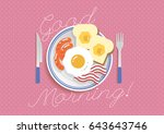 """""""good morning"""" text with... 