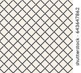seamless woven stripes lattice... | Shutterstock .eps vector #643647862
