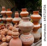 Small photo of Traditional Pottery of India - Delhi, India