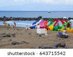 on 15 may 2017 family holiday... | Shutterstock . vector #643715542
