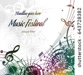music background abstract... | Shutterstock .eps vector #643728382